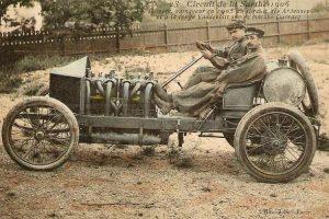 Circuit-de-la-sarthe-1907-300x200 La Darracq V8 de 1905 Cyclecar / Grand-Sport / Bitza Divers