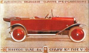 Delaugere et Clayette Torpedo Lux 1924