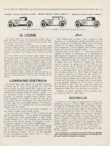 """La-Revue-limousine-1927-1-225x300 Lorraine-Dietrich millésime 1927 dans """"La revue Limousine"""" article sur Lorraine Dietrich 1927 Lorraine Dietrich"""