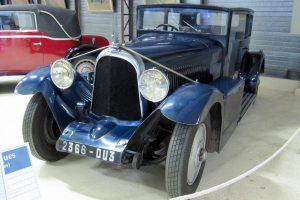 Voisin C24 Carène 1934 Musée Henry Malartre