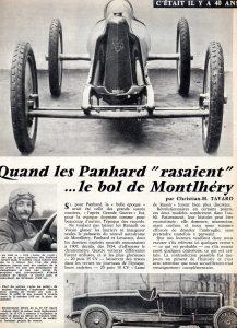 panhard levassor lame de rasoir montlhery 1934 1