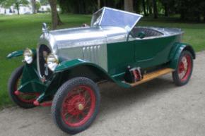 BNC Type GZ Torpedo Sport 3 places, 1923, 1 100 cm3, châssis n° 525