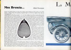 Bugatti Brescia dans L'automobiliste n3 1967 (1)