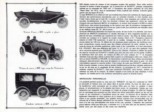 Bugatti Brescia dans L'automobiliste n3 1967 (5)