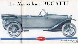 Bugatti Brescia dans L'automobiliste n3 1967 dessin (1)