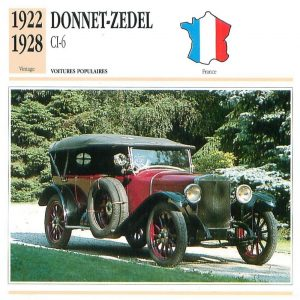 Donnet Zdel type CI 6 fiche 1