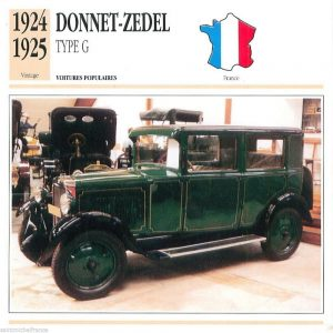 Donnet-Zedel Type G 1