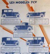 Donnet-Zedel dépliant 1927 5