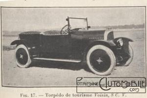 """LGC-du-20-10-1923-9-voisin-4-300x200 Voisin C4, 8 hp dans """"Le Génie Civil"""" du 20/10/1923 Voisin"""