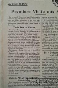 """Voisin-8hp-3-200x300 Voisin C4, 8 hp dans """"Le Génie Civil"""" du 20/10/1923 Voisin"""
