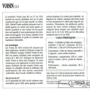 """Voisin-C4s-fiche-2-300x300 Voisin C4, 8 hp dans """"Le Génie Civil"""" du 20/10/1923 Voisin"""