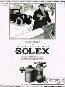 carbu-solex-225x300 Comment devenir constructeur automobile (d'avant-guerre)? Autre Divers Voitures françaises avant-guerre