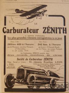 carbu-zenith-225x300 Comment devenir constructeur automobile (d'avant-guerre)? Autre Divers Voitures françaises avant-guerre