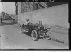 21-5-21, Le Mans, Porporetto [i. e. Jean Porporato] sur Hinstin [Grand Prix de la consommation organisé par l'Automobile-Club de l'Ouest