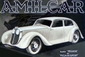 Amilcar Pegase Prototype Paris 1934