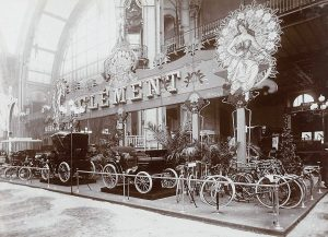 Clément salon de l'automobile du cycle et des sports (1901)