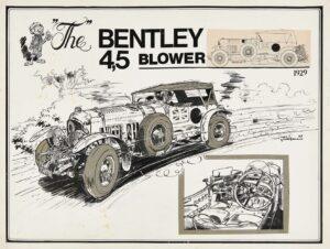 """Bentley-45-Litres-Blower-1929-par-Jidehem-300x226 Bentley 4½ Litres """"Blower"""" 1930 Divers Voitures étrangères avant guerre"""