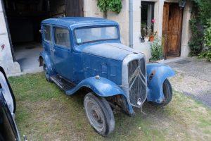 """Rosalie-Citroën-10AL-1933-32-300x200 Rosalie 10 AL de 1933 """"sortie de grange"""" A Vendre Voitures françaises avant-guerre"""