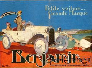 benjamin-300x224 Benjamin 1929 Cyclecar / Grand-Sport / Bitza Divers