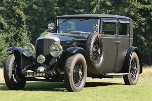 bentley speed six mulliner train bleu 1930