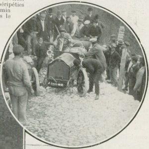 Lorraine Dietrich, Lla Vie au Grand Air 1908 5