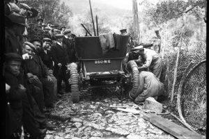 Lorraine-Dietrich de Paul Meyan, la montée de Monaco à La Turbie, le 10 avril 1908 2