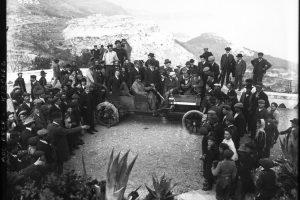 Lorraine-Dietrich de Paul Meyan, la montée de Monaco à La Turbie, le 10 avril 1908 3