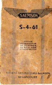 Salmson-S4-61-notice-dentretien-1-184x300 Salmson S-4-61, notice... Salmson