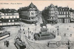 D_Orléans_Place_du_Martroi-300x200 Delaugère et Clayette 4M de 1911 Divers Voitures françaises avant-guerre
