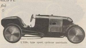 Automobilia-15-02-1920-cyclecars-1-elfe-300x169 Les cyclecars (Automobilia du 15/02/1920) 2/2 Cyclecar / Grand-Sport / Bitza Divers