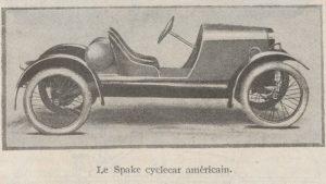 Automobilia-15-02-1920-cyclecars-1-spake-300x169 Les cyclecars (Automobilia du 15/02/1920) 2/2 Cyclecar / Grand-Sport / Bitza Divers