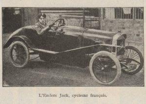 Automobilia-15-02-1920-cyclecars-2-enders-jack-300x215 Les cyclecars (Automobilia du 15/02/1920) 2/2 Cyclecar / Grand-Sport / Bitza Divers
