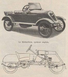 Automobilia-15-02-1920-cyclecars-2-richardson-263x300 Les cyclecars (Automobilia du 15/02/1920) 2/2 Cyclecar / Grand-Sport / Bitza Divers