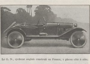 Automobilia-31-01-1920-cyclecars-GN-300x214 Les cyclecars (Automobilia du 31/01/1920) 1/2 Cyclecar / Grand-Sport / Bitza Divers