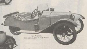Automobilia-31-01-1920-cyclecars-premier-300x169 Les cyclecars (Automobilia du 31/01/1920) 1/2 Cyclecar / Grand-Sport / Bitza Divers