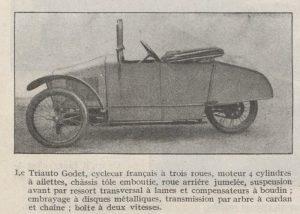 Automobilia-31-01-1920-cyclecars-triaut-godet-2-300x214 Les cyclecars (Automobilia du 31/01/1920) 1/2 Cyclecar / Grand-Sport / Bitza Divers