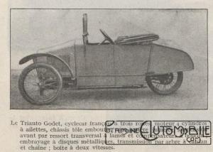 Automobilia-31-01-1920-cyclecars-triaut-godet-2-300x214 Les cyclecars (Automobilia du 31/01/1920) 1/2 Divers