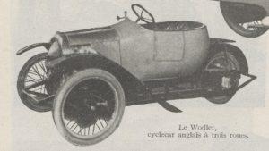Automobilia-31-01-1920-cyclecars-wodler-300x169 Les cyclecars (Automobilia du 31/01/1920) 1/2 Cyclecar / Grand-Sport / Bitza Divers