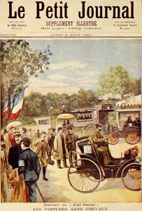 Le_Petit_Journal_-_6_August_1894-203x300 Peugeot Type 5 de 1894 Divers Voitures françaises avant-guerre