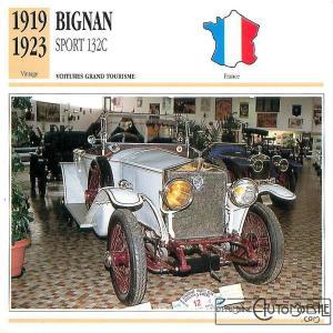 bignan-sport-132c-fiche-1-300x300 Bignan à Rétromobile Cyclecar / Grand-Sport / Bitza Divers Voitures françaises avant-guerre