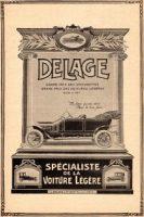 Delage-1908-voitures-légères-pub-200x300 Delage Type L 1910 Divers Voitures françaises avant-guerre