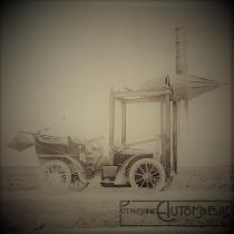 Henri Fabre, essai d'hélice (en 1907) sur Renault 14 cv de 1903