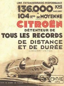 "citroen-rosalie-records-c6-225x300 ""Petite Rosalie"" des records 1933 Divers"