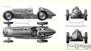 Talbot-Lago-T26-GP-Belgique-1949-300x168 Talbot Lago T26 GP 1948 Cyclecar / Grand-Sport / Bitza Divers Voitures françaises après guerre