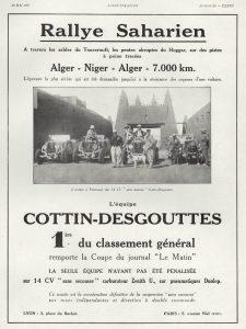 cottin-desgouttes-rallye-sahara-225x300 Cottin Desgouttes Type TA 1929 du Rallye Saharien Divers Voitures françaises avant-guerre