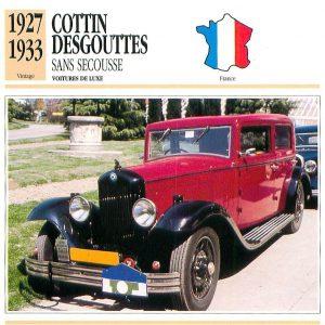 cottine-desgouttes-fiche-1-300x300 Cottin Desgouttes Type TA 1929 du Rallye Saharien Divers Voitures françaises avant-guerre