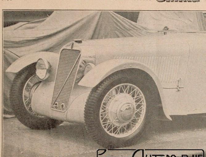 la nouvelle Georges Irat dans Omnia de 1935