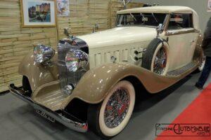Hispano-Suiza-K6-cabriolet-vanvooren-retromobile-2017-1-300x200 Hispano Suiza K6 cabriolet Vanvooren Divers Voitures françaises avant-guerre