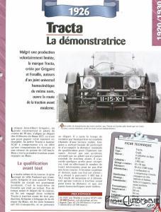 Tracta-fiche-1-227x300 Tracta Type A-GePhi 1927 Cyclecar / Grand-Sport / Bitza Divers Voitures françaises avant-guerre