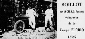 André_Boillot_vainqueur_de_la_Coppa_Florio_1925_sur_Peugeot_18CV_S.S-300x137 Peugeot 174 S Torpedo Divers Voitures françaises avant-guerre